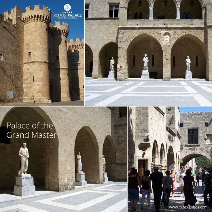 One of the places you will visit for sure during your stay in Rodos island!  The Palace of the Grand Master of the Knights of Rhodes is imposing the city of the Old Town.. A true journey back to the history of the island..  Enjoy Rodos island!!  www.rodos-palace.com