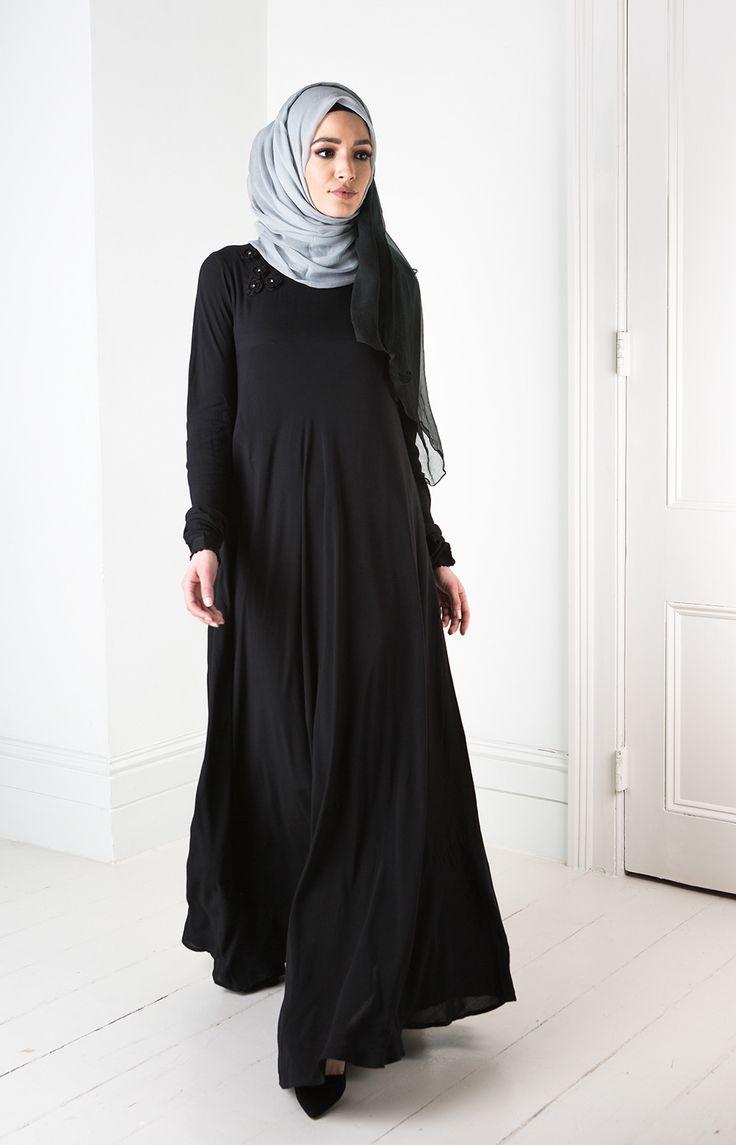 Crochet Flare Abaya