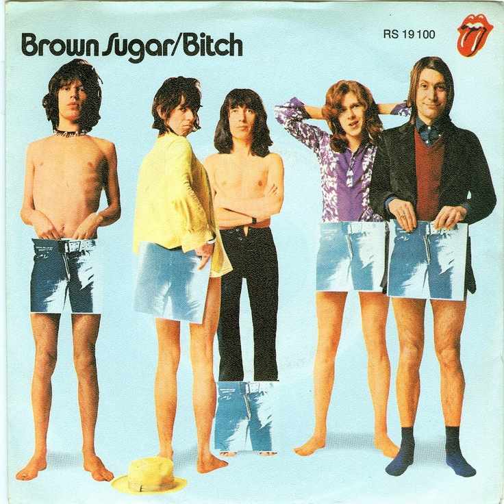 April 13, 1971 - The Rolling Stones released 'Brown Sugar' the first record on their own label, Rolling Stones Records, which introduces the infamous licking- tongue and lips logo.