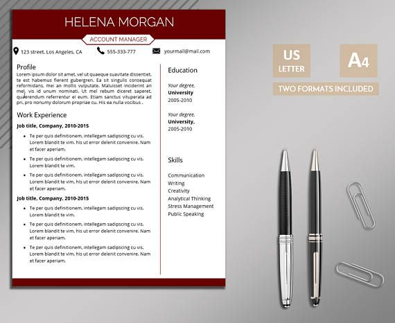 https://www.etsy.com/listing/525753580/resume-template-for-word-professional