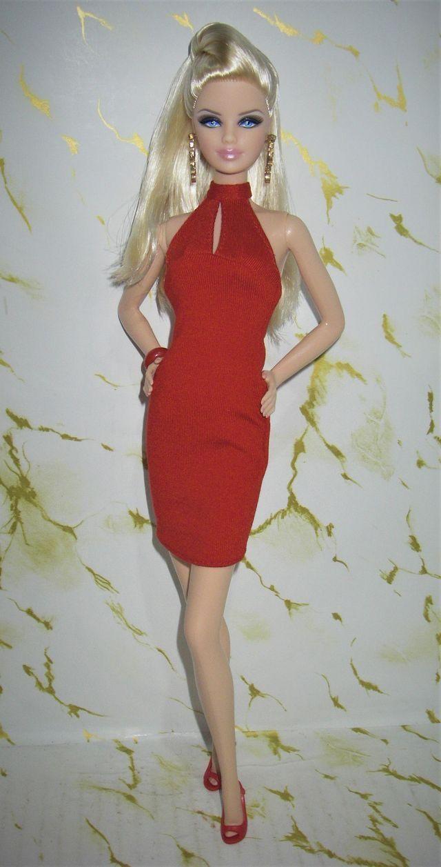 Barbie Basics Red Fashion Barbie Clothes Barbie Fashion