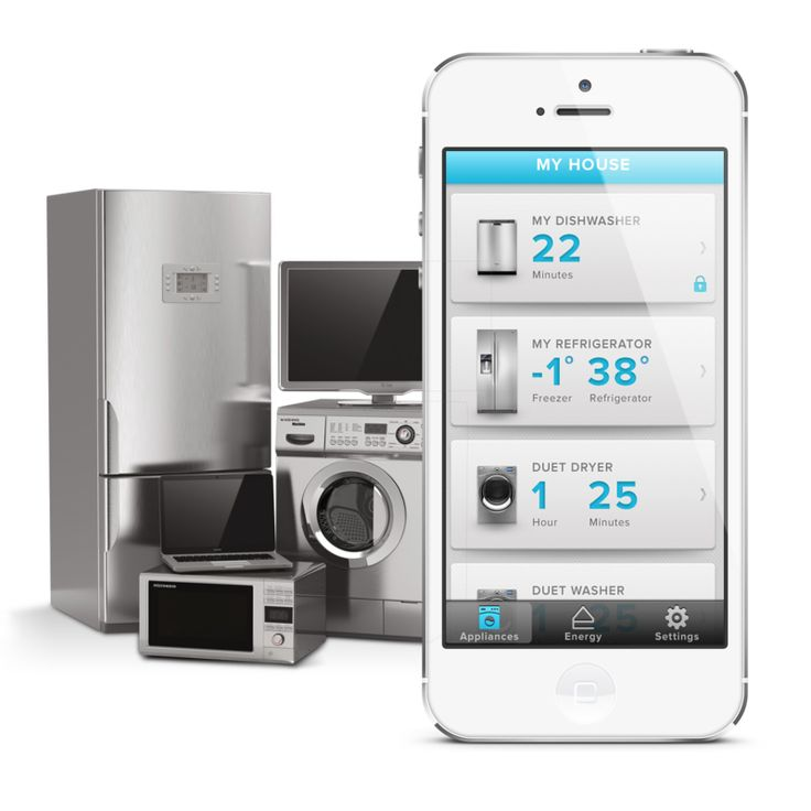 Whirlpool Smart Appliances With A Smart Home App Ux In
