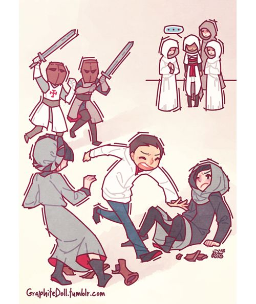 Running from Templars
