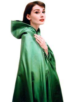 audrey in emerald.