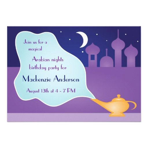 17 best Arabian Night Invitation Ideas images on Pinterest