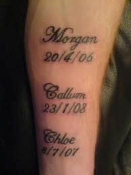 Name Tattoos Tattoo Designs