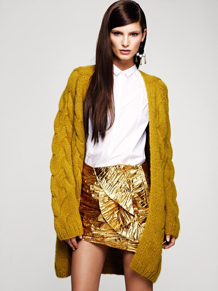 Forget everything else, the skirt is great!! --Ava Smith for H Fall 2012 Lookbook #fall2012style