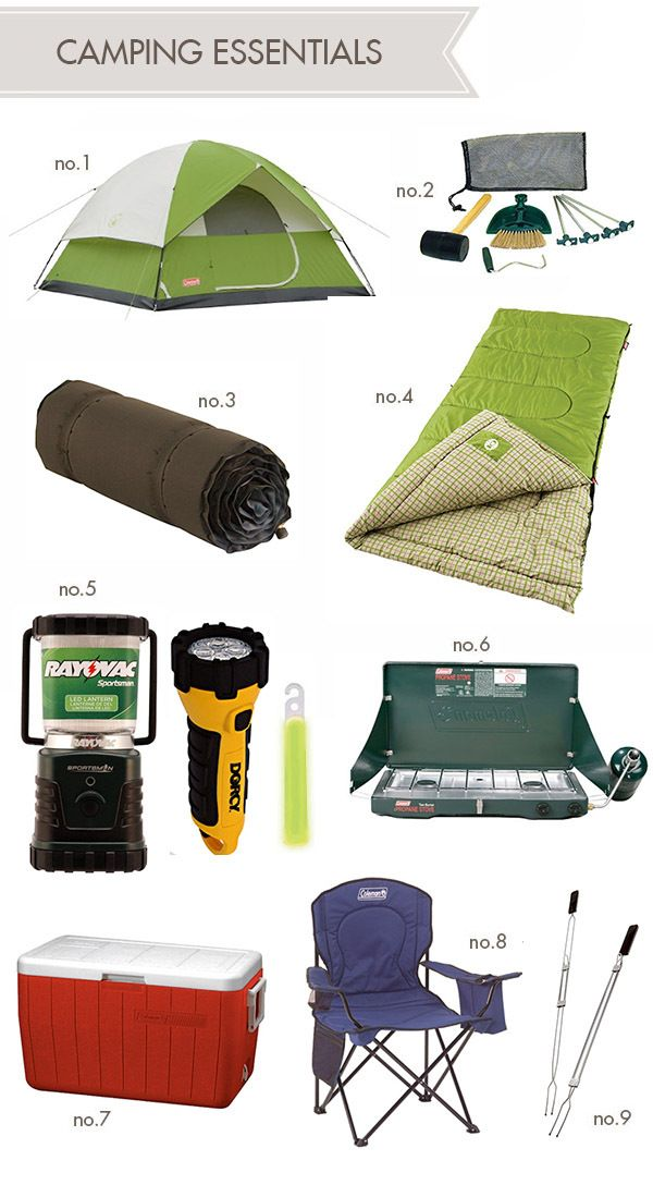 Going camping? Don't go without this list of camping food essentials!