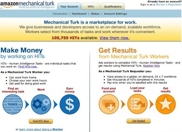 Make an Extra $50/Week Working for Amazon.com Amazon Mechanic Turk info-  Penny Hoarder