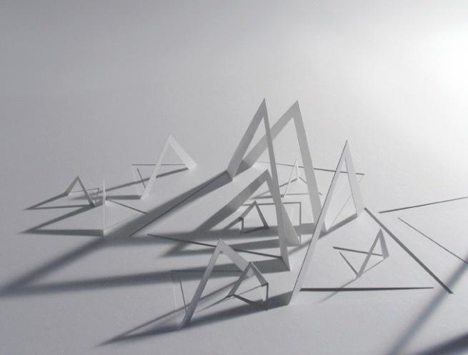 richard sweeney : 'papersculptures'