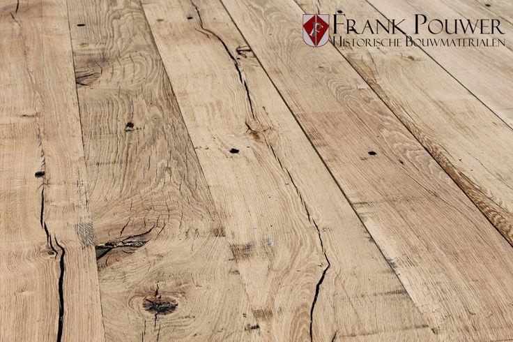robuuste houten vloer nog net even mooier geleefd uiterlijk