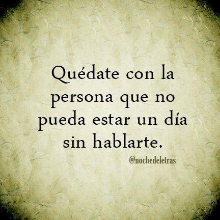 Quédate con esa persona