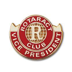 Russell-Hampton Co. Rotary Club Supplies: Rotaract Vice President Lapel Pin