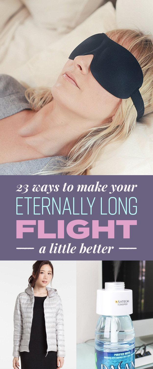 23 Ways To Make Your Eternally Long Flight A Little Better