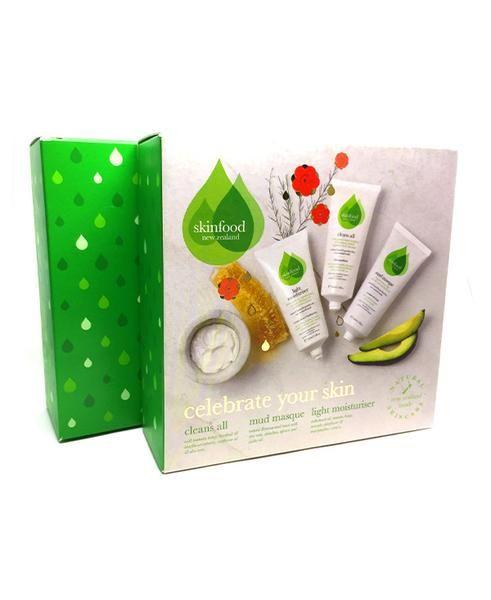 Celebrate your skin, skin food, levetrina, mud, masque, gift, face care, bar, cleanser, organic, soap, pack, mouisture, butter