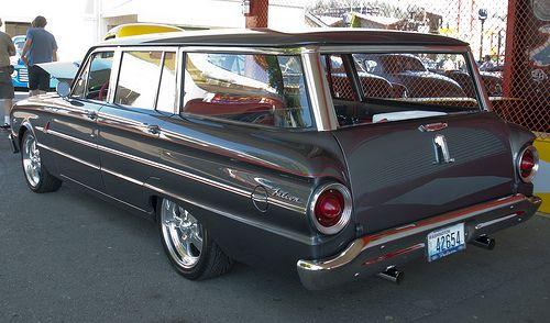1963 falcon station wagon - Google Search