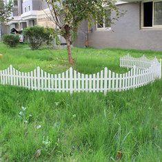 #Banggood 33см пластик белый штекер в забор украшение сада забор (917105) #SuperDeals