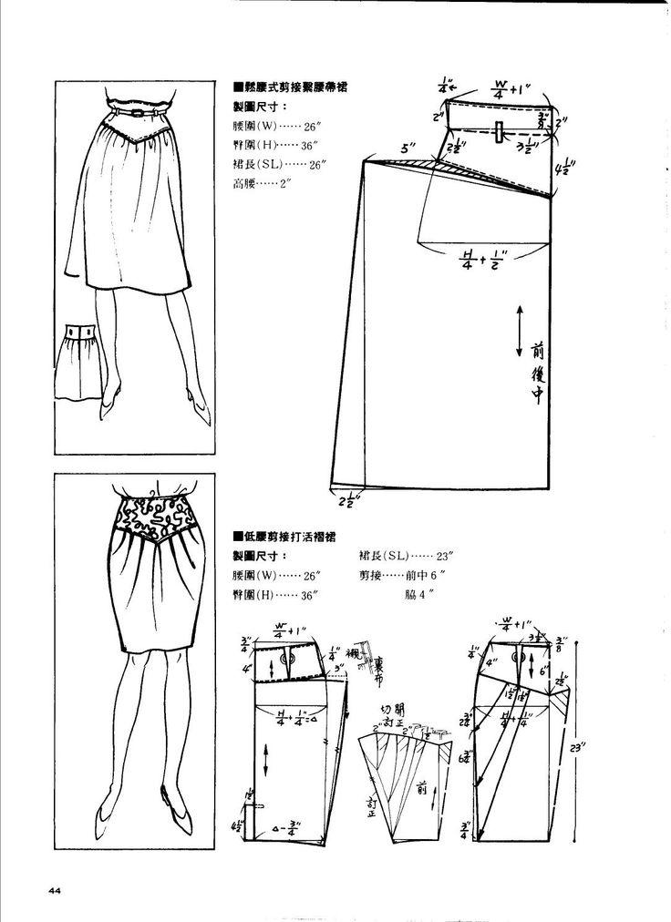 1989 cutting chapter skirts China