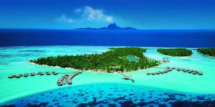 Bora Bora, French Polynesia 30 Stunning Beaches & Lakes With The Most Crystal Clear Waters In The World • Page 5 of 6 • BoredBug
