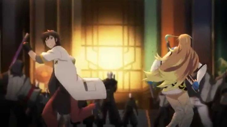 Tales of Xillia 2 - Opening Theme [HD] I havn't seen or played this one yet, so I also havn't watched this opening just to save this precious moment until I'm finally able to buy and play it myself :P