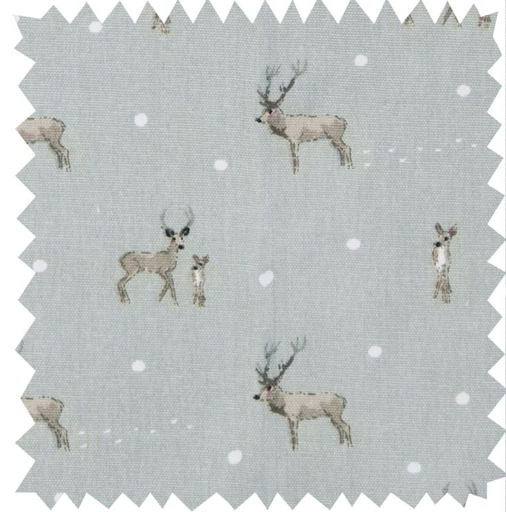 Fabric by the Metre - 'Stag' from Sophie Allport
