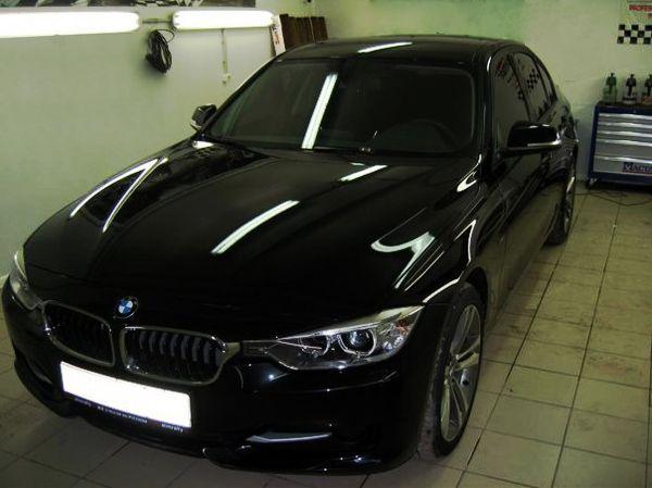 Тонировка стекол автомобиля BMW