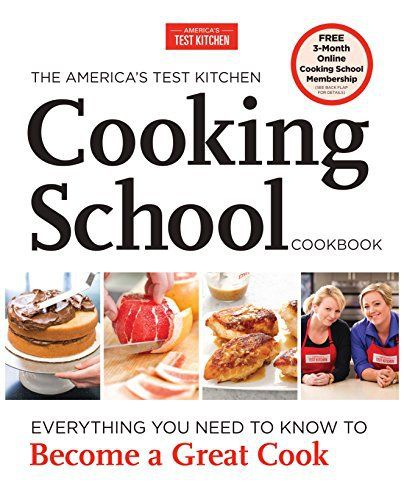A landmark book from the test kitchen that has been teaching America how to cook for 20 years. We launched the America's Test Kitchen Cooking School two years ago to teach home cooks how to cook the test kitchen way, and since then thousands of students have taken our interactive... more details available at https://www.kitchen-dining.com/blog/kindle-ebooks/cookbooks-food-wine-kindle-ebooks/culinary-arts-techniques/product-review-for-the-americas-test-kitchen-cooking-sch