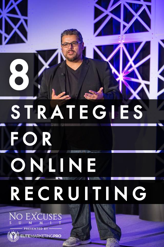 Online marketing and lead generation expert shares his top strategies for getting tons of recruits for your network marketing or direct sales business using the internet!...Great Stuff!
