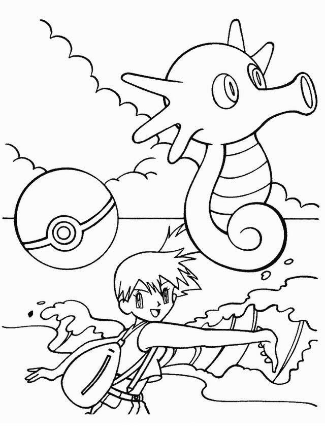 Happy Birthday Pokemon Coloring