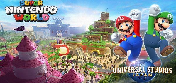 Super Nintendo World será tema da Universal Studios Japan