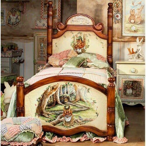 Beatrix potter bedroom