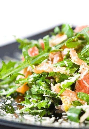 Avocado-Salat mit Räucherlachs - Salate zum Abnehmen