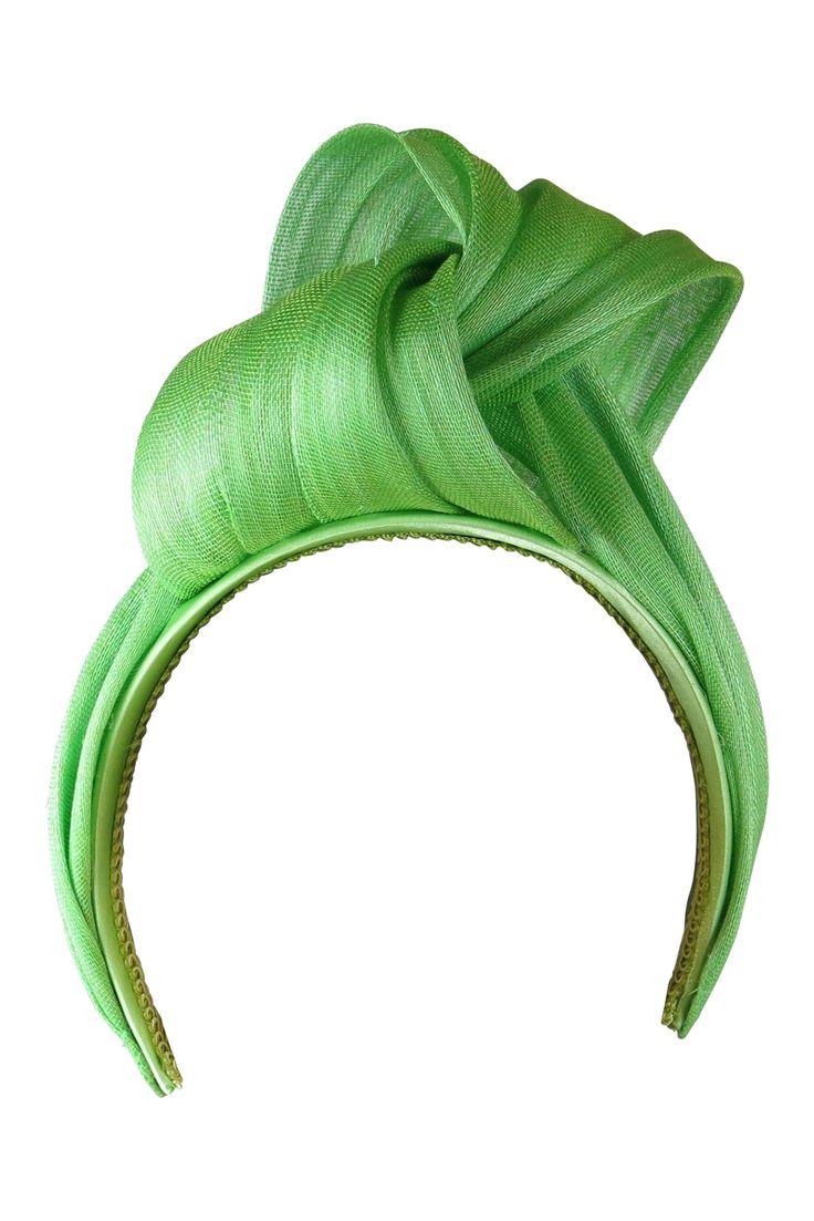 headband of abaca sinamay from MorganandTaylor, Australia. #judithm