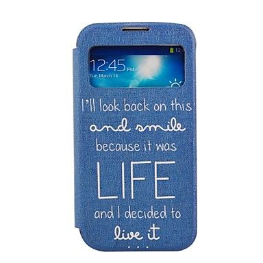 Elonbo Classic Statement Leather Seiso Full Body Case Window Samsung Galaxy S4 I9500 – EUR € 7.35