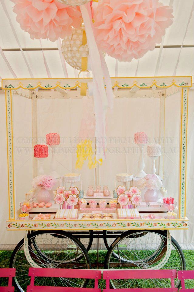 Carnival Candy Table
