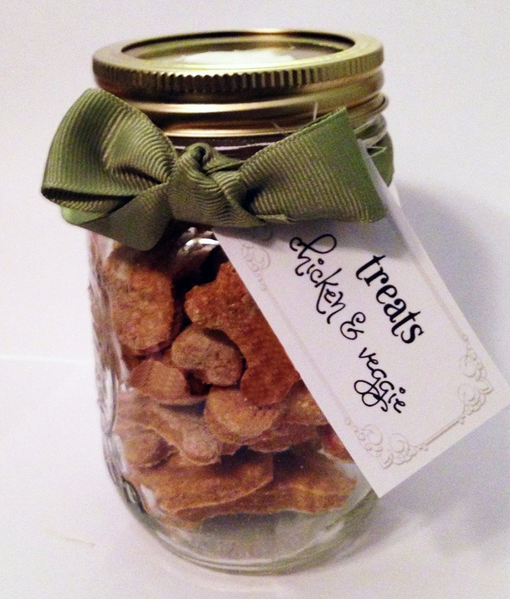 Gourmet Dog Treat of The Month Club!  - Mason Jar - homemade, healthy & no preservatives