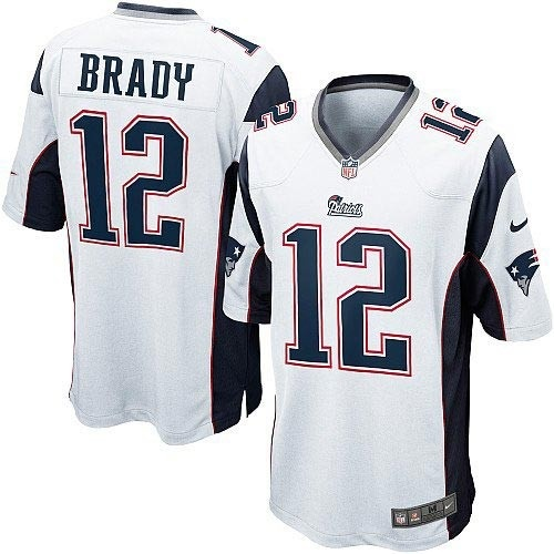 Men's Nike New England Patriots Tim Tebow Game White Jersey