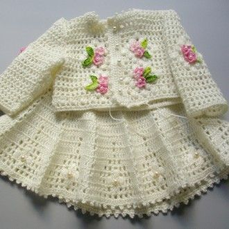Kız Bebekler İçin Örgü Elbise Modelleri « Elişi Marketi, Örgü