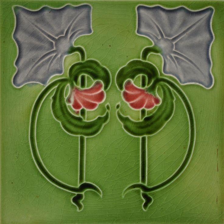 Barratt c1905 - RS0384 - Art Nouveau Tiles