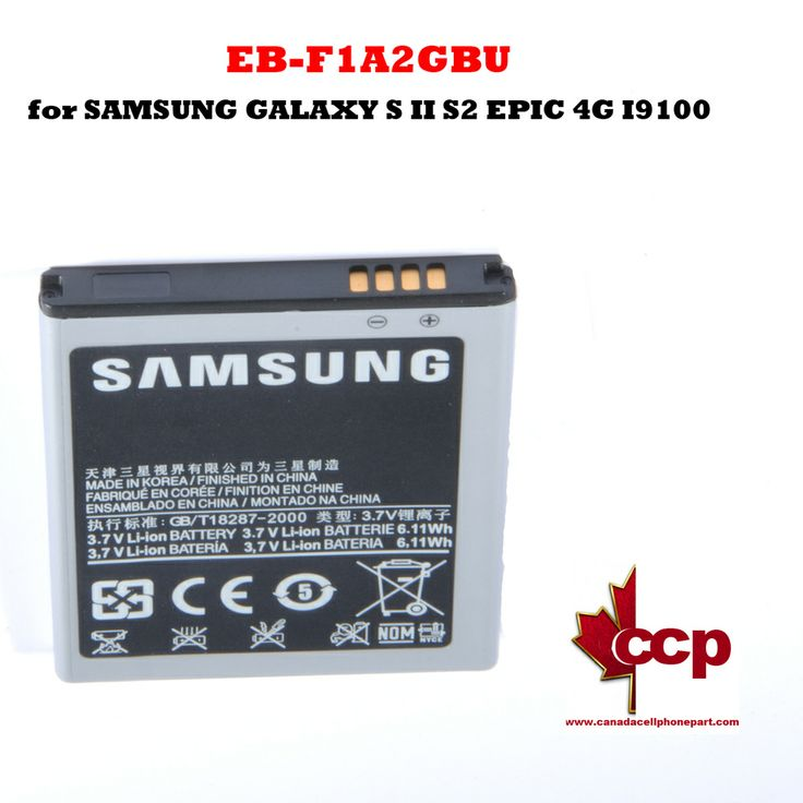 Canada Cell Phone Parts - Battery EB-F1A2GBU for SAMSUNG GALAXY S II S2 EPIC 4G I9100, $16.95 (http://www.canadacellphonepart.com/battery-eb-f1a2gbu-for-samsung-galaxy-s-ii-s2-epic-4g-i9100/)