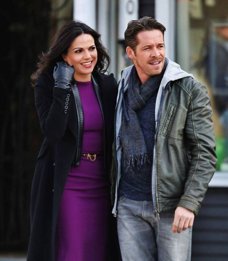 """Lana Parilla and Sean Maguire - Behind the scenes - 4 * 22 """"Operation Mongoose Part 2"""" 1st April 2015"""