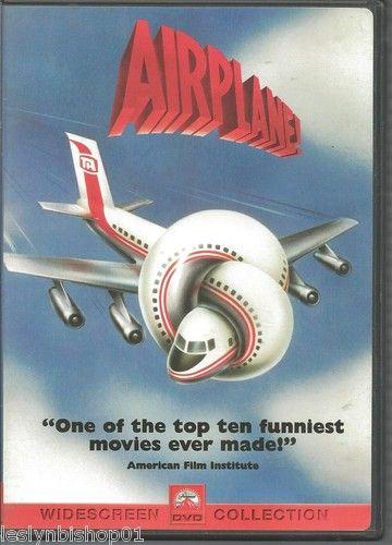 Airplane DVD 2000 Sensormatic Robert Hays Julie Hagerty   eBay