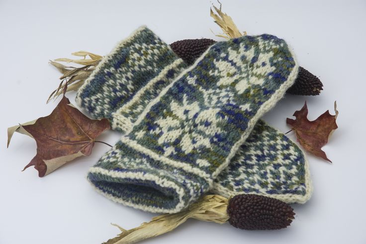 Homemade Mittens by knittys