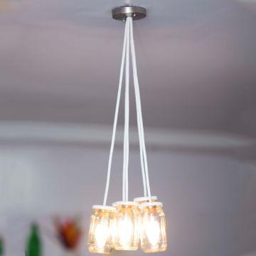PoppadumArt Plain Jam Lamp