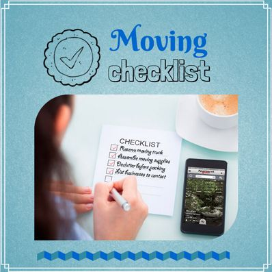 #Moving doesn't have to be overwhelming! Use this #checklist to stay organized & prepared for anything. | apartmentguide.com #apartment #home #move #packing #HowTo