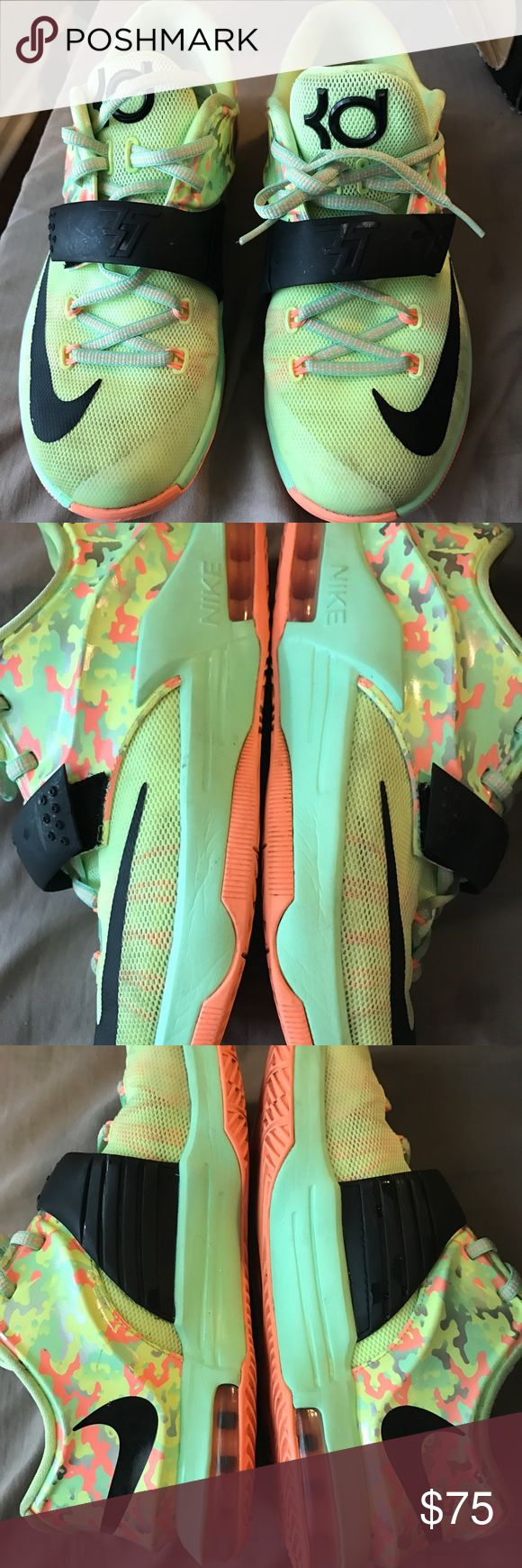 """Youth size 5.5  KD sneakers Youth KD """"easters"""" worn but in near perfect condition Nike Shoes Sneakers"""