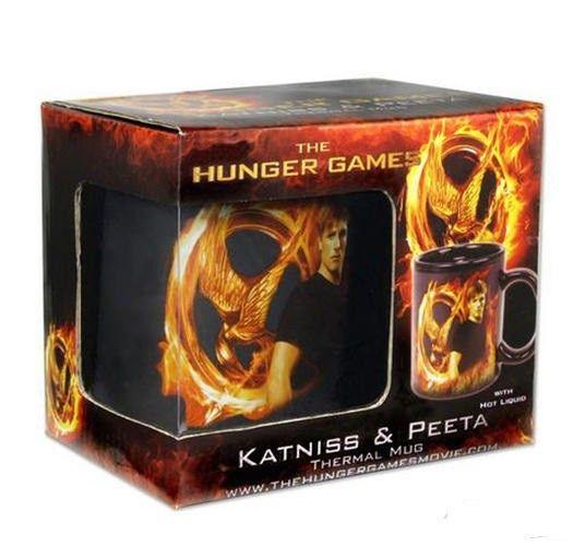Die Tribute von Panem ThermoEffekt-Tasse Katniss & Peeta  Die Tribute von Panem Tassen - Hadesflamme - Merchandise - Onlineshop für alles was das (Fan) Herz begehrt!