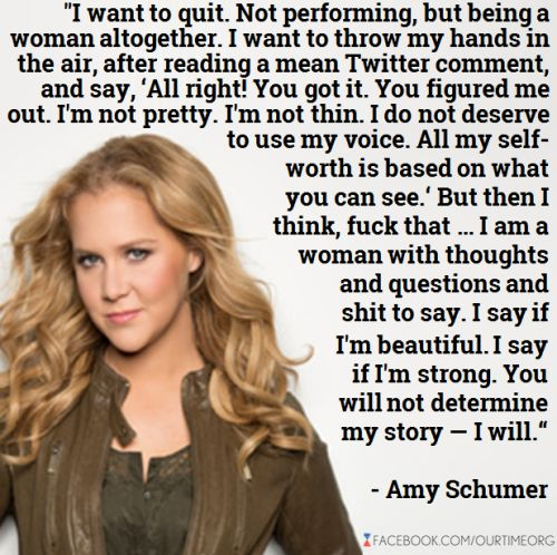 amy schumer quotes | Tumblr