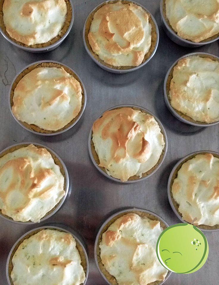 Tortinhas de limão Mister Lemon #MrLemon #AmoTortasdeLimao #sobremesas