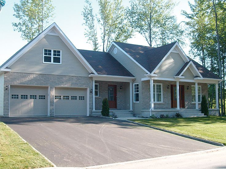 65 best images about for the home cape cod addition ideas for Ranch house with garage